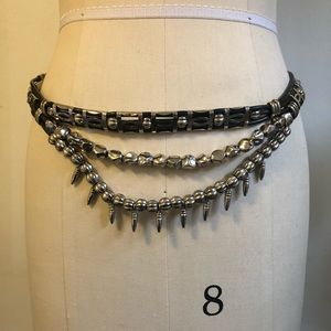 VINTAGE BOHO PUNK SPIKE BELT!